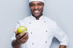 Mangi un pasto sano! Immagini Stock Libere da Diritti