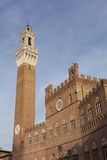 Mangia tower, Siena Stock Photo