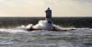 mangiabarche маяка Стоковое фото RF
