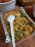 Mangiando a Hanoi fotografie stock
