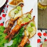 mangiando in Tailandia fotografia stock libera da diritti