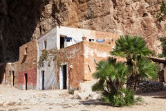 Mangiapane cave, Sicily : a village in a cavern Stock Photos