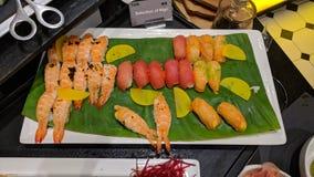 Mangime per pesci per pensiero all'hotel di Movenpick fotografia stock libera da diritti
