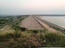 Mangla Dam Royalty Free Stock Photo