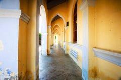 MangLang church corridor royalty free stock photo