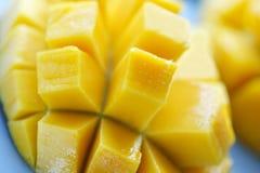 Mango. A close up shot of ripe and juicy mango Royalty Free Stock Photography