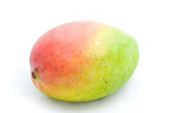Mango. A photo of a mango over a white background Royalty Free Stock Photography