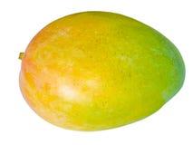 Mango. A colorful mango isolated on a white background Stock Photos