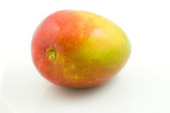 Mango. A photo of a mango over a white background Royalty Free Stock Image