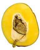 Mango. Isolated on white background Stock Photos