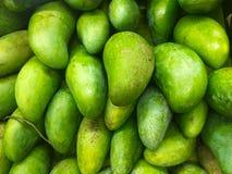 Mango aufgestellt für Verkauf Bilder von den grünen Früchten benutzt als Hintergrund Wiederholungs-Muster grafische Wiederholung  stockfoto