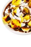 Mango and banana salad Stock Image