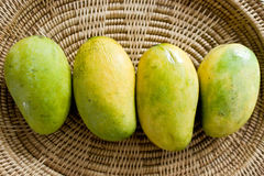 Mango in the basketry Royalty Free Stock Image