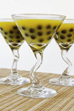 Mango Bubble Tea royalty free stock images