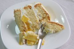 Mango cake Stock Photography
