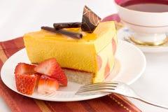 Mango cake Royalty Free Stock Photo