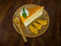 Mango Cake Royalty Free Stock Images