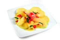 Mango carpaccio Stockfotos
