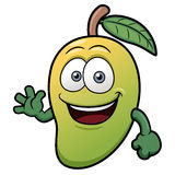 A Mango Character Royalty Free Stock Photography