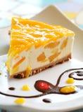 Mango Cheese Cake Royalty Free Stock Images