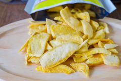 Mango chips Royalty Free Stock Photos
