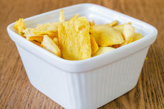 Mango chips Stock Image