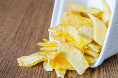 Mango chips Stock Photo