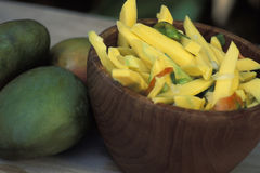 Mango Chow Lizenzfreie Stockbilder