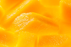 Mango chunks Stock Photo