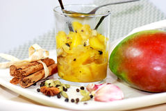 Mango chutney Royalty Free Stock Images