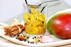 Mango chutney Royalty Free Stock Images