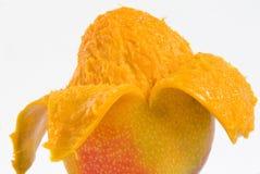 Mango Closeup. Juicy and sweet mango fruit Stock Images