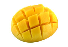 Mango Cubed royalty free stock photos