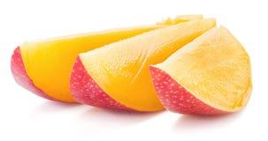Mango cubes. royalty free stock photography