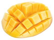 Mango cubes. stock photography