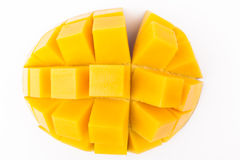 Mango Cubes Stock Photos