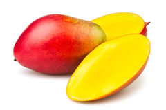 Mango cut Royalty Free Stock Photos