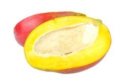 Mango Cut in Half Stock Images