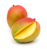 Mango with cut Stock Images