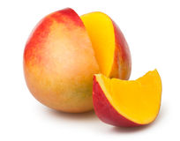 Mango cut Stock Photos