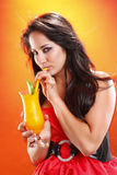 Mango daiquiri Royalty Free Stock Images