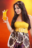 Mango daiquiri Royalty Free Stock Photography