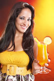 Mango daiquiri Stock Image