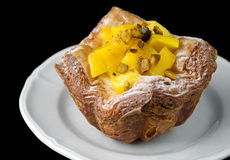 Mango Danish Pastry Stock Photos
