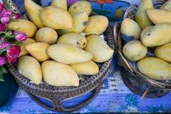 Mango decoration Royalty Free Stock Photography
