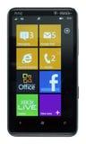 Mango del teléfono 7.5 de Windows Fotos de archivo libres de regalías
