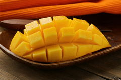 Mango der frischen Frucht Lizenzfreies Stockfoto