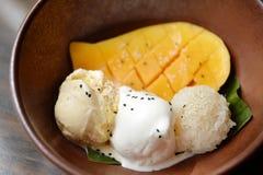 Mango dessert Royalty Free Stock Photography