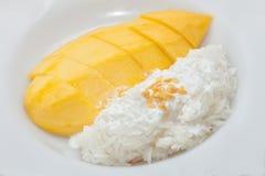 Mango dessert Royalty Free Stock Photo