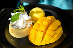 Mango Dessert Royalty Free Stock Photos